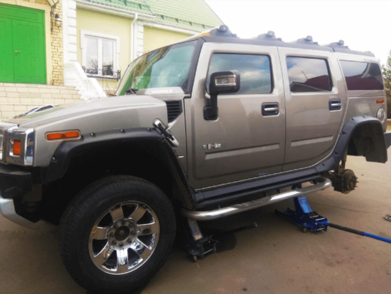 Сезонная замена шин для Hummer