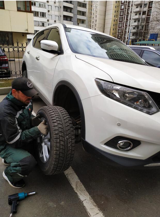 Сезонная замена шин Nissan Murano